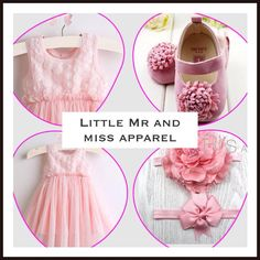 Girls Powder Pink Tutu dress, with matching big flower first walker shoes and 2 big flower headbands,  stunning outfit,  Age 0-24 Months £14.99 Order from our website   #HTLMP #babies #tutu #rompers #baby #girlsclothes #pink #adorable #cute #shop  #new #girly #princess #babies #shoes #headbands #wedding #outfit #girl #baby