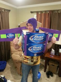 Bud Light Year! Fun And Easy Costume For Adults