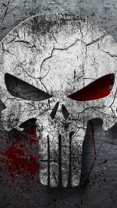The Punisher, skull, minimal, superhero, dark wallpaper