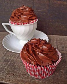 Cupcakes di cioccolato e yogurt