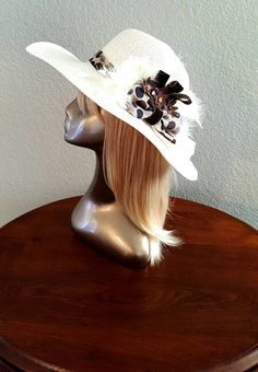 Check out this item in my Etsy shop https://www.etsy.com/listing/476048509/bridal-sunday-church-hat-victorian-style