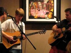 """Ryan Ahlwardt (formerly of Straight No Chaser) and Mike Luginbill (of SNC) perform the first song they ever wrote together, """"Round in Circles"""". Great voices, harmonies, and guitar playing!! (Those two are my favs in SNC. :))"""