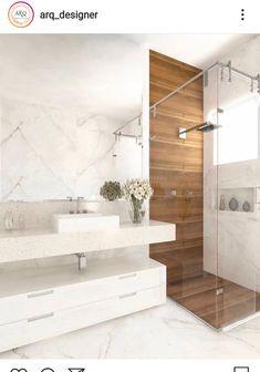 Modern Bathroom Design, Bathroom Interior Design, Modern House Design, Bathroom Remodel Pictures, Bathroom Cupboards, Toilet Design, Home Comforts, Home Design Decor, Bathroom Furniture