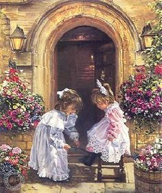 A Sister's Touch by Sandra Kuck via Prints.com... this is my very best favorite of hers.