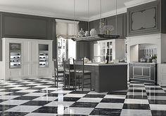 Une conception fine aristocratique pour la cuisine «d'humeur anglaise» - ArchiExpo