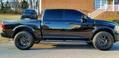 592 1 2014 ram 1500 dodge leveling kit fuel maverick machined accents aggressive 1 outside fender