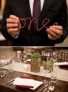 DIY wedding table deco for less than 40 EUR! - Fashion And Hairstyle Wedding Table Deco, Wedding Table Numbers, Wedding Wishes, Diy Wedding, Wedding Ideas, Wedding Photos, Nautical Wedding, Wedding Favors, Wedding Reception