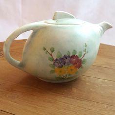 Vintage Art Deco E. Radford Teapot  Hand Painted by RetroReUp