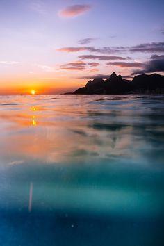 "ponderation: "" Ipanema Sunset by Andre Joaquim """