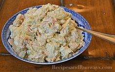 Red Skin Potato Salad with Sour Cream and Bacon