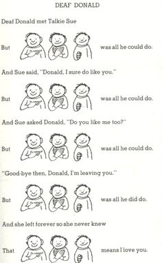 I love you. I remember this from when I was little, it's so sad :(