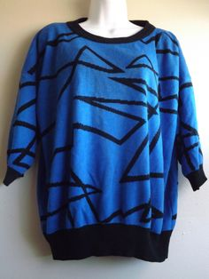 Women's Vintage Transformer Sweater  Size Medium 100% Acrylic - L- 711 by MineAlways on Etsy