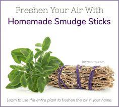 How to Make a Smudge Stick