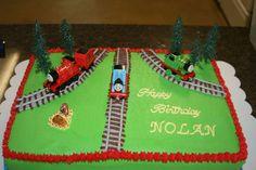 Thomas The Train Birthday  on Cake Central