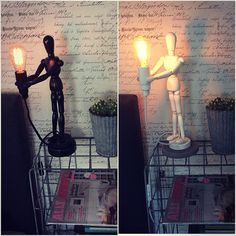 Lumiere No.1 bordslampa. Finns i svart o Vitt.  550kr + 80kr i frakt.         Lampa o dimmer ingår