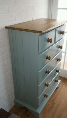 Painted Solid pine drawers