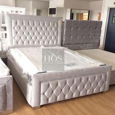 Furniture For Sale In Houston Code: 9961920536 Bed Headboard Design, Bedroom Bed Design, Modern Bedroom Design, Headboards For Beds, Bedroom Sets, One Bedroom, Bedroom Decor, Bedding Sets, Luxury Furniture Stores
