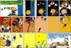 Calvin & Hobbes...time slows