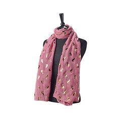 Pink Gayer Anderson cat scarf (British Museum exclusive) at British Museum shop online