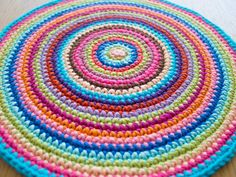 This week's weekly mandala is inspired by the festival of Holi in India. Pure crochet colour therapy! A creative being makes one crochet mandala every week.