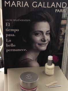 Maria Galland,París.Spa BCN 2012. La belleza clásica llega desde París...  http://maquinariacreativa.blogspot.com