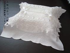 angela lace tissues box cover - Recherche Google