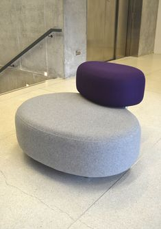 Product Name: IslandDescription: SofaFunction: Island is a collection of sculptural, rounded sofas made of two layered elements - seat pad and backrest, one hovering over the other. Each element can be upholstered in different fabrics or colours and a…