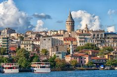 Galata Tower (Turkish: Galata) gained its importance by the virtue of transforming into a trade colony of the Genoese and the Venetians, beside then-Byzantine Constantinople. #Being a Tourist in Turkey #Galata Tower #Istanbul Galata Tower #Turkey Galata Tower