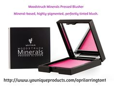 Have you experienced the Moodstruck Minerals Blusher by Younique? I am so excited to say Younique finally has pressed compact, pair it up with Younique's Blusher Brush .......... 100% chemical free.  #3dlashyladybugs #younique #makeup #mineralpigments #makeup #youniquemascara #longlashes #pigments #bbflawless #blushers #workfromhome #confidence #beautiful #happy #touchfoundation http://www.youniqueproducts.com/aprilarrington1