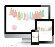 cute set of wallpapers for your electronic devices!