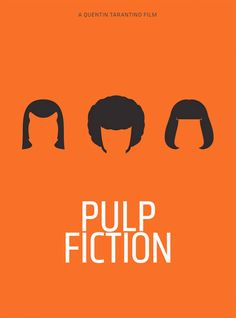 Pulp Fiction Poster by Pedro Vidotto