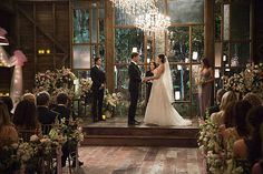 The Vampire Diaries Alaric and Jo's Wedding Pictures | POPSUGAR Entertainment