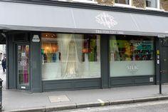amazing fabric shop in Soho