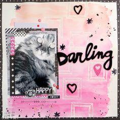 Darling de Maria Blazquez para @Scrapaddictes