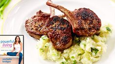 Michelle Bridges share her recipe for lamb cutlets and delicious healthy mash!