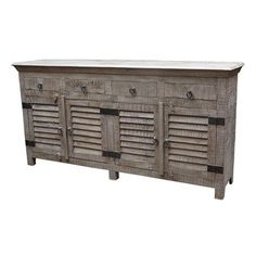 MOTI Furniture Troy 4 Drawer Sideboard