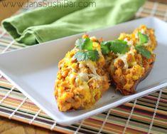 Breakfast Stuffed Sweet Potatoes  @jan issues's Sushi Bar