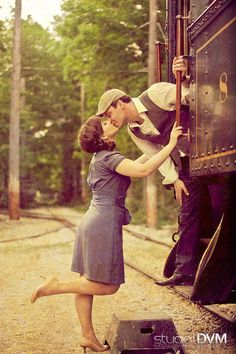 Oh this is such a cute picture for an engagment or maybe even a wedding photo.