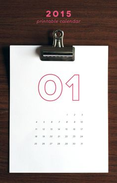 2015 Printable Calendar | SALE