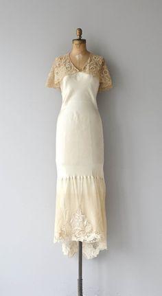 Béatitude wedding gown vintage 1930s wedding dress by DearGolden