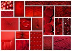 By @eleauerrea94 #board #collage #red #rojo #panel #inspiration