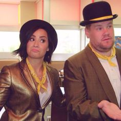 Demi Lovato on The Late Late Show with James Corden - aired August 5th 2015