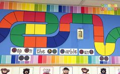 """The Marble Run"" Student Progress Bulletin Board- (Free Download!)"