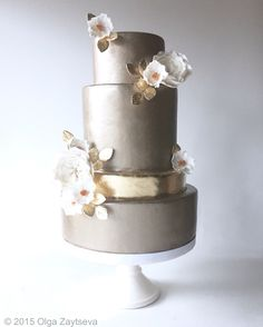 Wedding cake by Olga Zaytseva