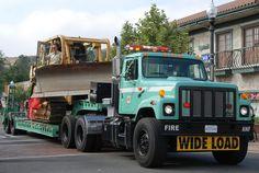 USFS dozer transport