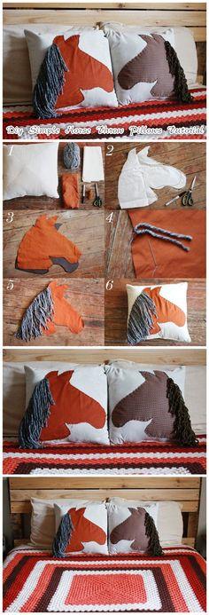 Horse PillowsTutorial