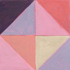 "For Sale: Pink 1 by Janine Brown | $300 | 6""w 6""h | Original Art | https://www.vangoart.co/janinebrown/pink-1"