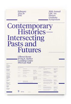 | 30th Annual UBC Art History Graduate Symposium By...