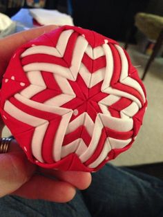 Quilted Christmas Ornament by SAburns