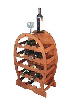 Cantinetta vino in legno 04